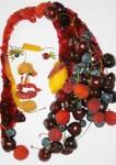 Фруктовый портрет Victoria Beckham.