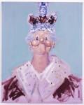 Королева Елизавета II от George Condo.