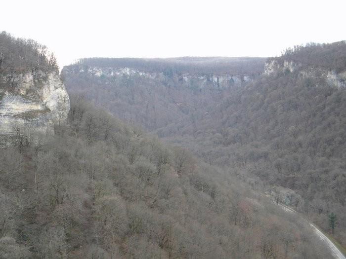 Панорама на  ст.Даховскую. Это по дороге на каръер