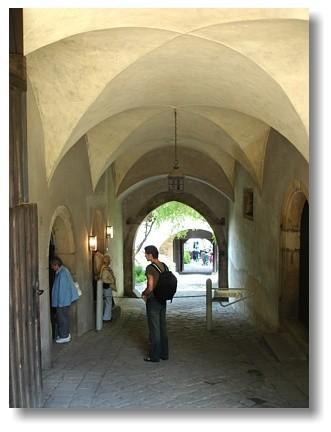 Burg Stolpen-вид внутри 45213