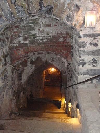 Burg Stolpen-вид внутри 84460