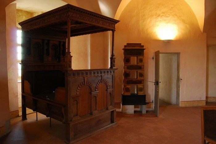 Burg Stolpen-вид внутри 86774