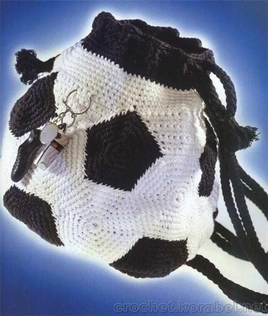 рюкзаки футбольные.