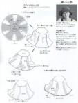 Выкройка, выкройка кепки женской и выкройки платья в стиле стиляг.