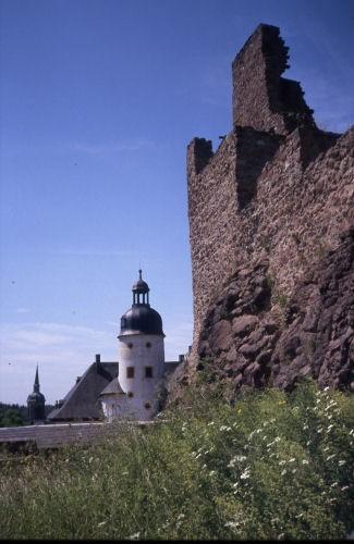 Руины Фрауенстайн, саксония - Burg Frauenstein 91883