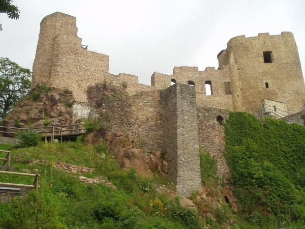 Руины Фрауенстайн, саксония - Burg Frauenstein 59023