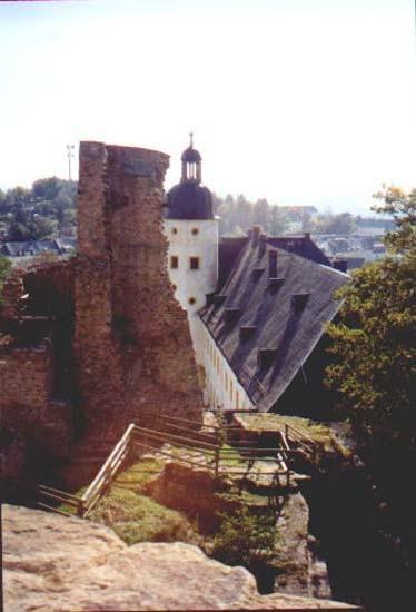 Руины Фрауенстайн, саксония - Burg Frauenstein 21575