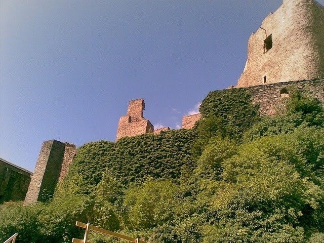 Руины Фрауенстайн, саксония - Burg Frauenstein 87596