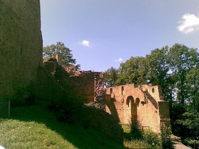 Руины Фрауенстайн, саксония - Burg Frauenstein 85830