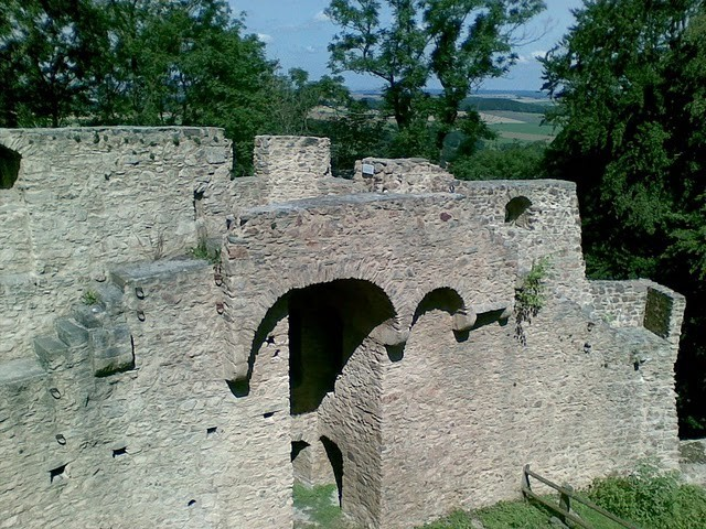 Руины Фрауенстайн, саксония - Burg Frauenstein 63249