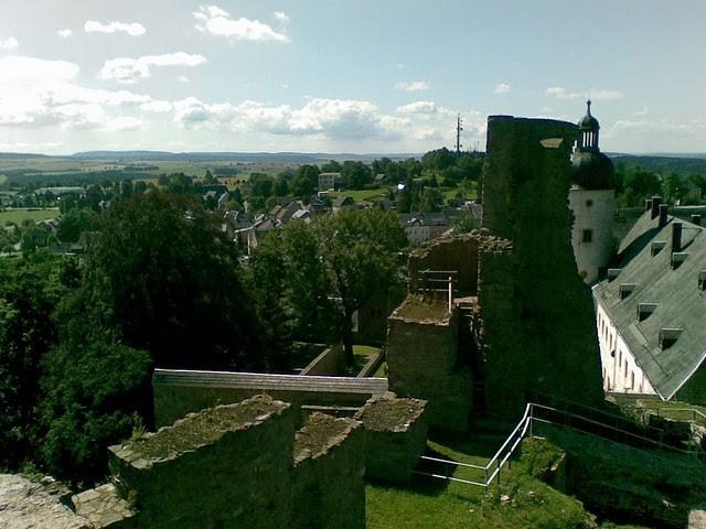Руины Фрауенстайн, саксония - Burg Frauenstein 28213