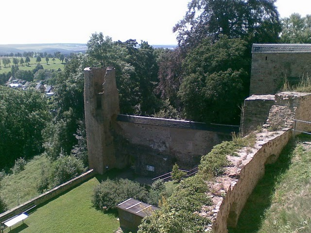 Руины Фрауенстайн, саксония - Burg Frauenstein 21276