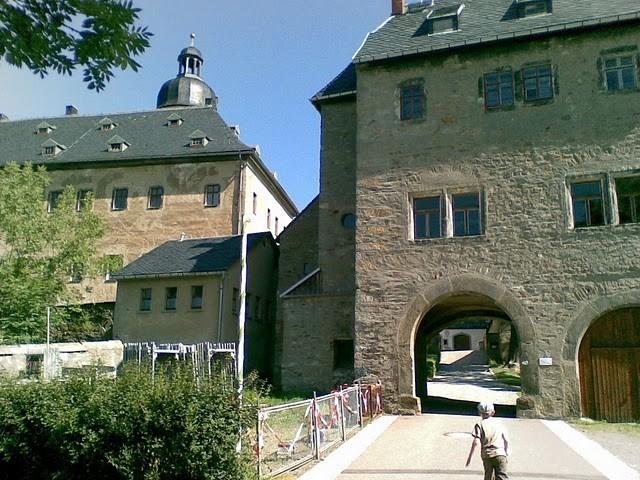 Руины Фрауенстайн, саксония - Burg Frauenstein 41938