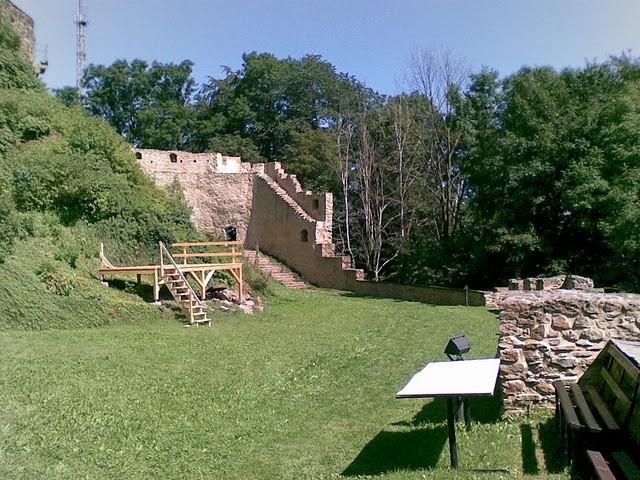 Руины Фрауенстайн, саксония - Burg Frauenstein 71331