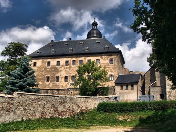 Руины Фрауенстайн, саксония - Burg Frauenstein 64293