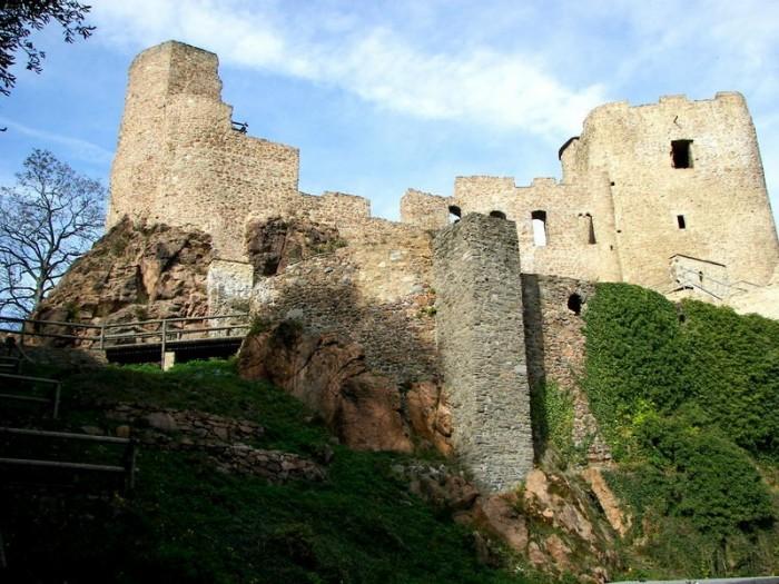 Руины Фрауенстайн, саксония - Burg Frauenstein 18455