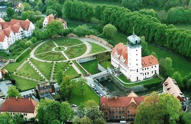 Крепость Делич (нем. Burg Delitzsch) 73930