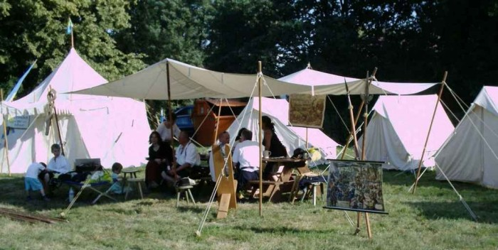 Крепость Делич (нем. Burg Delitzsch) 19847