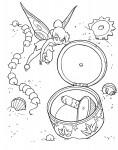 раскраска Динь-Динь открытия тайны фантастический мир Королевство фей.