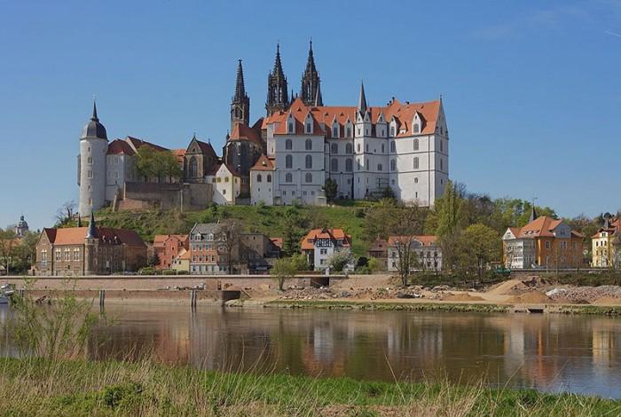 Крепость Альбрехтсбург (нем. Albrechtsburg) 55710