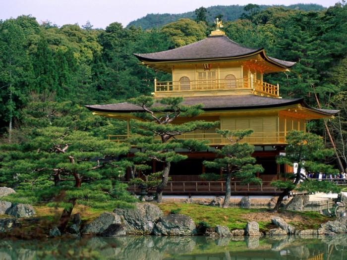 Киото. Золотой павильон