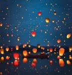 В этом году мы посетили, как уже многие знают, мероприятие мечты - праздник Ии Пенг, который сопровождается запуском рисовых фонариков.