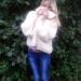 Пряжа Alize Furlana кремовый, спицы №10, ушло 9 мотков по 100 гр.
