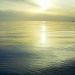 Закатное солнце и дорожка на море