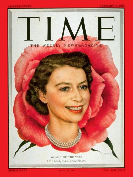 1952: Королева Елизавета II.