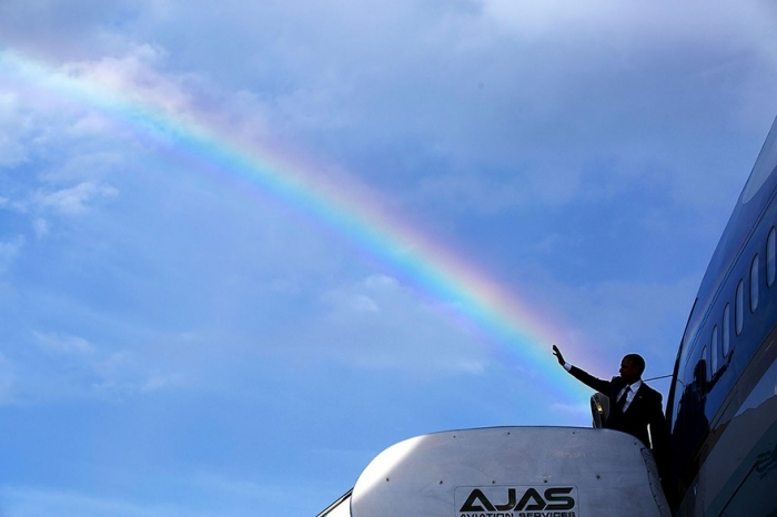 #4 President Obama Delivers A Colorful Farewell As He Leaves Jamaica.