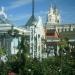 Вдали церковь на улице Никольская
