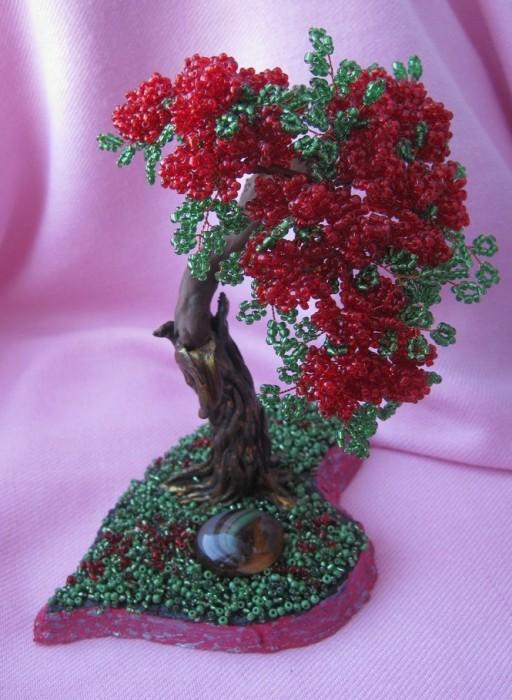 пошаговое плетение розы из бисера - Самоделки из бисера.