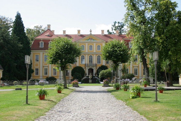 Замок Рамменау (нем. Barockschloss Rammenau) 79731