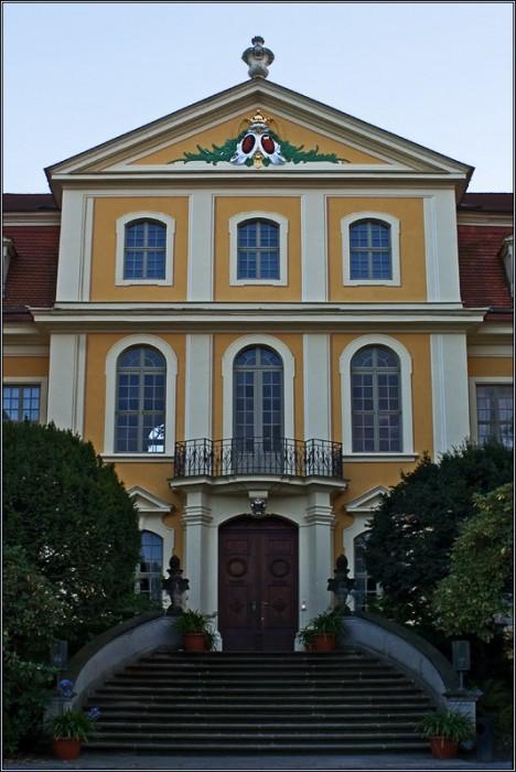 Замок Рамменау (нем. Barockschloss Rammenau) 13222