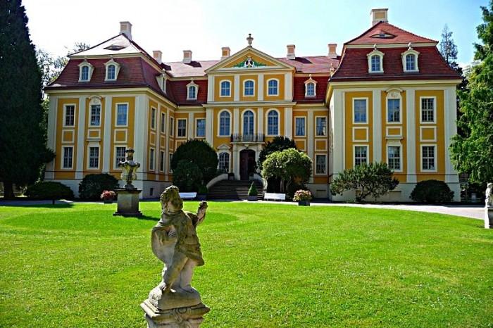 Замок Рамменау (нем. Barockschloss Rammenau) 24866