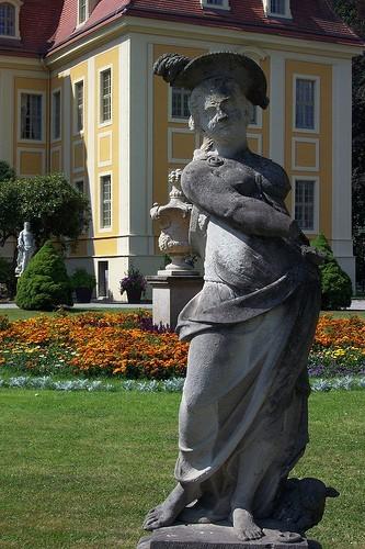 Замок Рамменау (нем. Barockschloss Rammenau) 64053