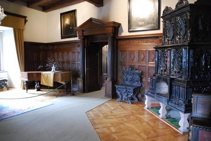 Крепость Крибштайн (нем. Burg Kriebstein) 14217