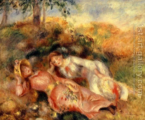 Pierre Auguste Renoir : Reclining Women