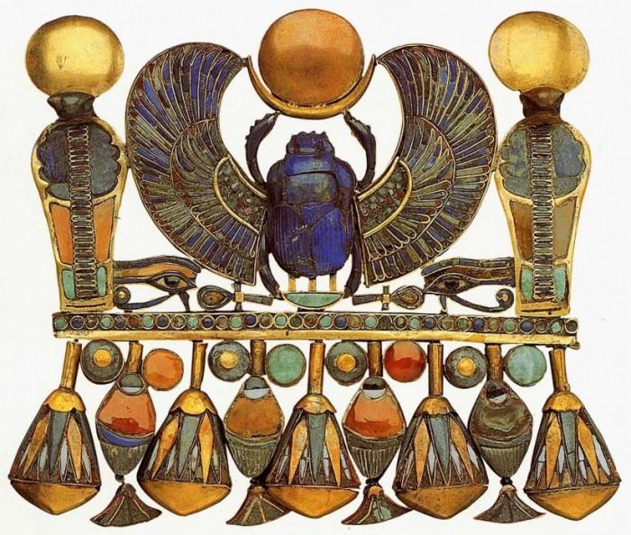 ...это составляло большую часть жизни тех, кто пользовался этими изделиями, поэтому они и сама жизнь древних египтян.