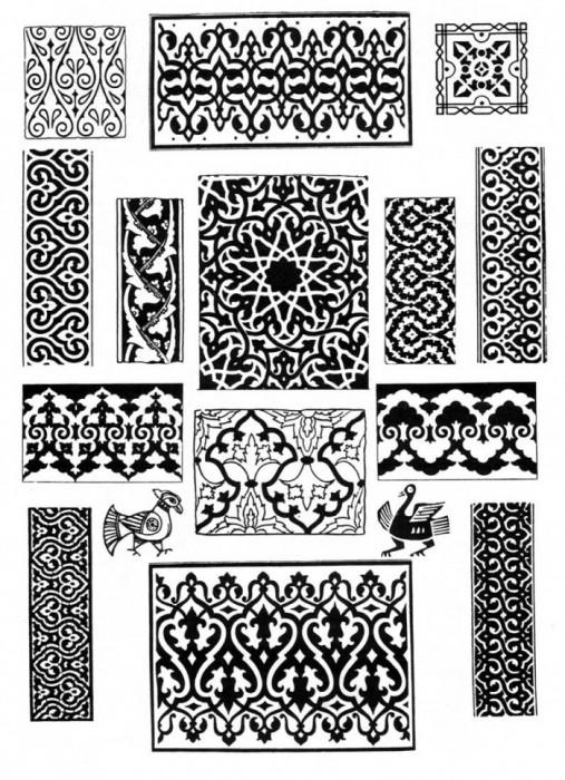 Орнамент для росписи мебели