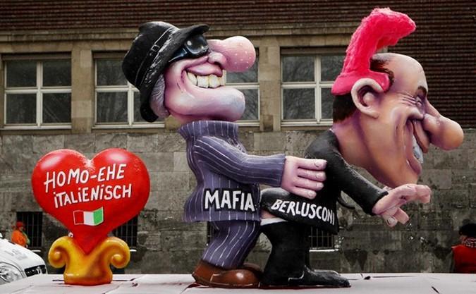 Традиционный Понедельник Роз в Дюссельдорфе, Германия, 15 февраля 2010 года.