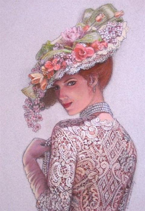 Sue Halstenberg's Paintings on Pinterest | Victorian ...