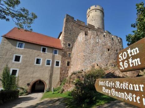 Крепость Гнандштайн (нем. Gnandstein) 23879