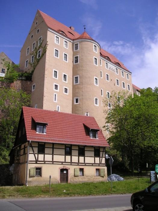 Крепость Гнандштайн (нем. Gnandstein) 94146