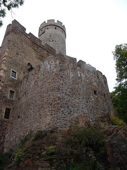 Крепость Гнандштайн (нем. Gnandstein) 58114