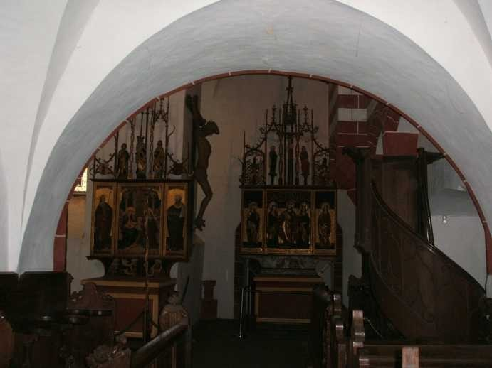 Крепость Гнандштайн (нем. Gnandstein) 90323