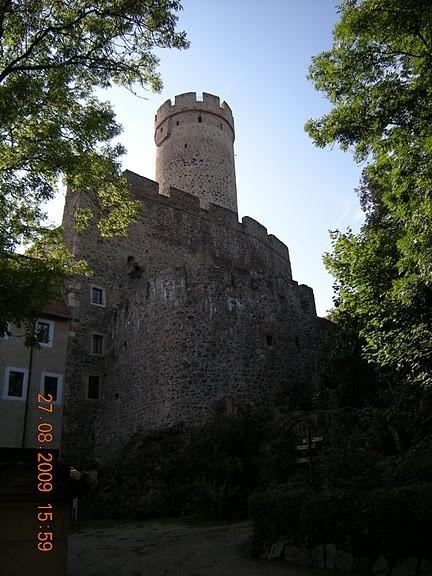Крепость Гнандштайн (нем. Gnandstein) 36411