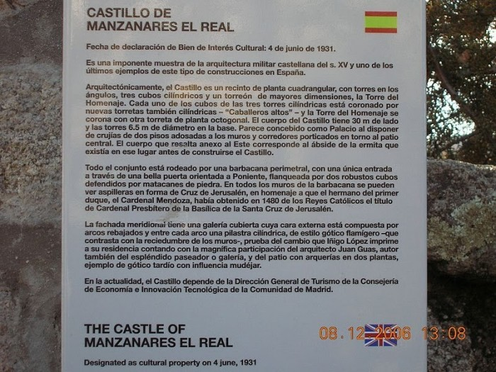 Замок в Мансанарес Эль Реал 38542