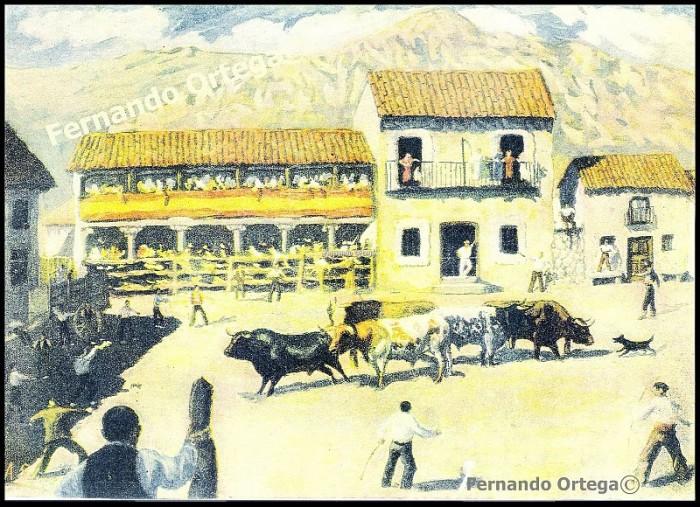 Замок в Мансанарес Эль Реал 12001