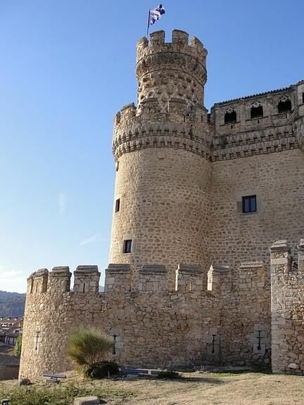 Замок в Мансанарес Эль Реал 36984